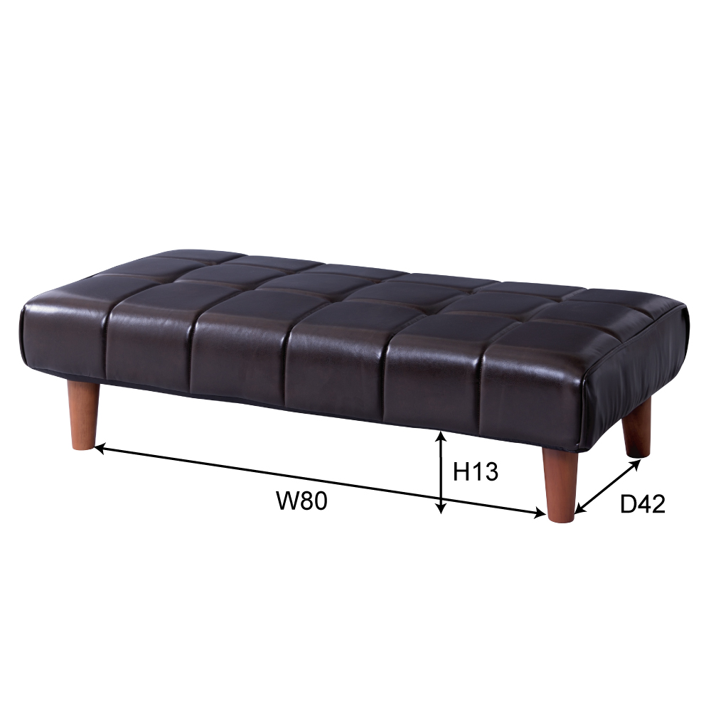 The Pority Antique Retro North Europe Furniture Interior Bench Sofa That I Wear Two Low