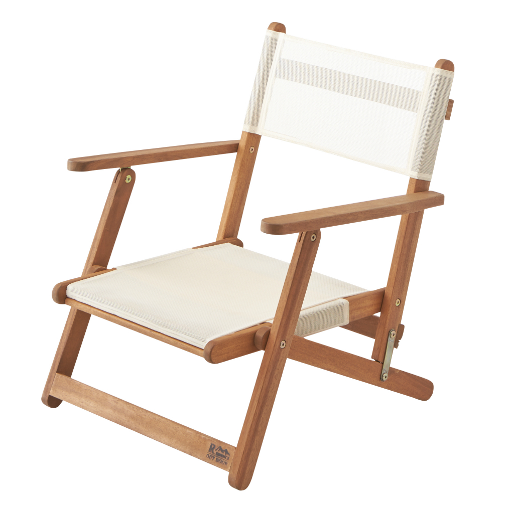 Folding Chair Nx 511 Tree Frame Acacia Wooden Outdoor Low