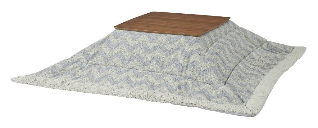 薄掛け こたつ布団  正方形 kk-131 190×190cm 天板サイズ80×80以下 薄掛コタツ布団 掛ふとん 上掛け こたつ コタツ 炬燵