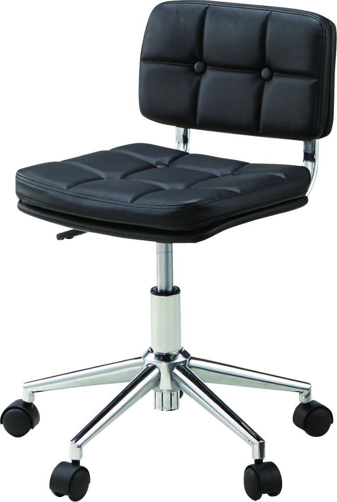 デスクチェア rkc-301bk オフィス イス 椅子 テーブル 事務所 車輪 ブラック おしゃれ インテリア 家具 新生活 一人暮らし