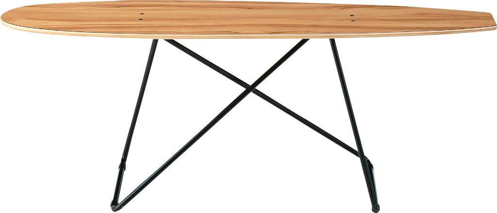 スケートボードテーブル sf-200 本物 スケボーデッキ スケボーの板 テーブル センターテーブル 机 リビングテーブル ローテーブル 西海岸 カリフォルニア スケボー おしゃれ インテリア 家具 新生活 一人暮らし