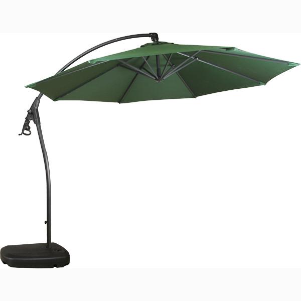 ... 3 M Large Pendant Garden Umbrellas! Crank Parasol Base Also Comes With  Free Standing ...