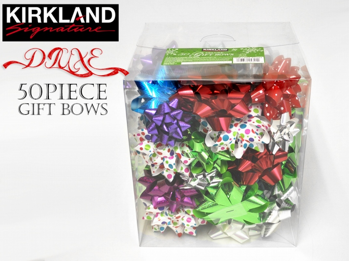 deluxe gift bows for gift ribbon 50 set assorted wrapping glitter craft art flower red gold silver ribbon flower bow kirkland valentine gift ornaments