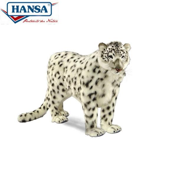 HANSA 4282 ユキヒョウ122 全長:122cm SNOW LEOPARD STA BH4282 ぬいぐるみ ハンサ クリスマス 誕生日 プレゼント 動物 犬 猫 鳥 うさぎ ペンギン アニマル 置物 人形 フィギュア KOESEN ケーセン カロラータ 大きい マスコット 実物大 大型
