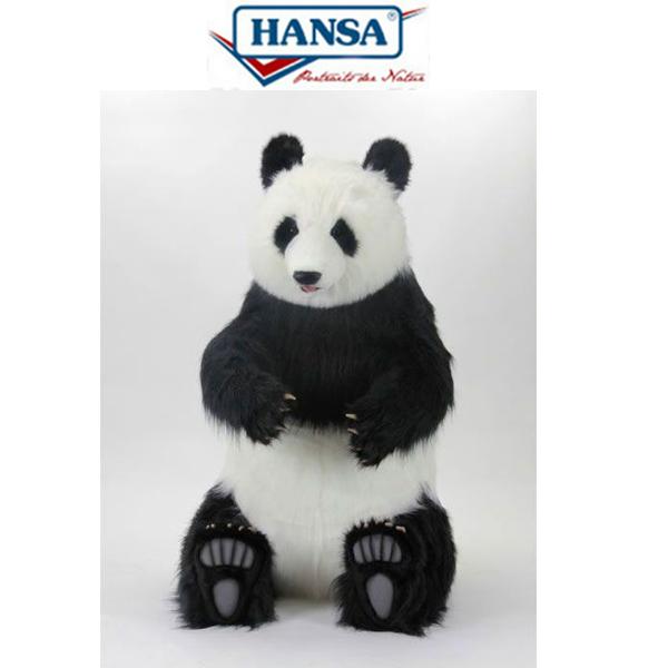 HANSA 4351 ジャイアントパンダ135 全長:135cm PANDA SIT BH4351 ぬいぐるみ ハンサ クリスマス 誕生日 プレゼント 動物 犬 猫 鳥 うさぎ ペンギン アニマル 置物 人形 フィギュア KOESEN ケーセン カロラータ 大きい マスコット 実物大 大型