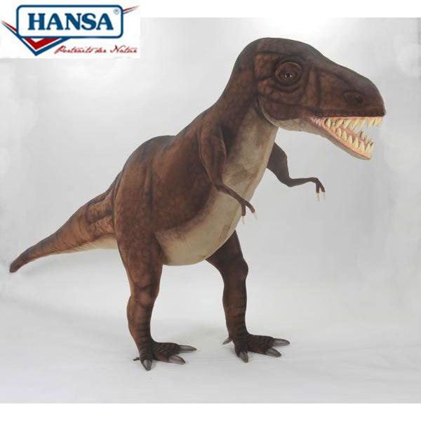 HANSA 5110 ティラノザウルス220 全長:220cm T-REX STUDIO BH5110 ぬいぐるみ ハンサ クリスマス 誕生日 プレゼント 動物 犬 猫 鳥 うさぎ ペンギン アニマル 置物 人形 フィギュア KOESEN ケーセン カロラータ 大きい マスコット 実物大 大型