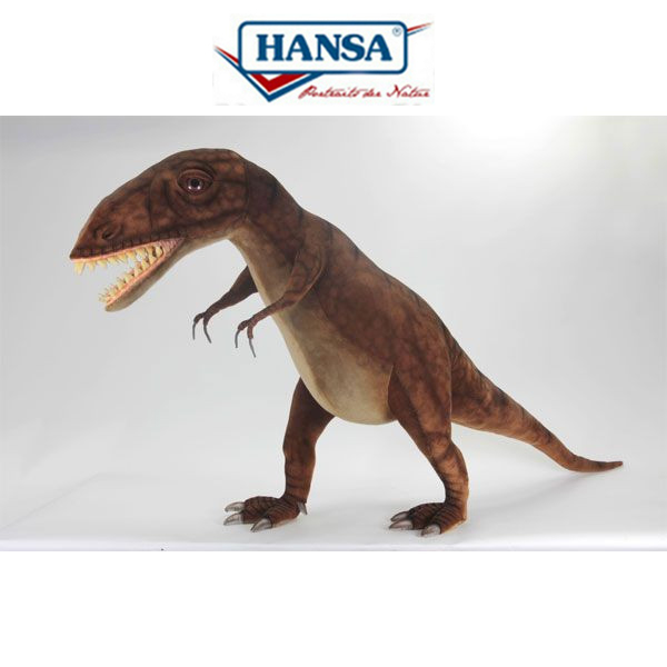 HANSA 5525 ティラノザウルス170 全長:170cm T-REX  BH5525 ぬいぐるみ ハンサ クリスマス 誕生日 プレゼント 動物 犬 猫 鳥 うさぎ ペンギン アニマル 置物 人形 フィギュア KOESEN ケーセン カロラータ 大きい マスコット 実物大 大型