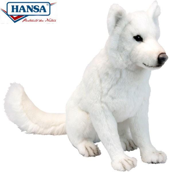 HANSA 6343 ホッカイドウケン60 全長:60cm HOKKAIDO DOG BH6343 ぬいぐるみ ハンサ 北海道犬 クリスマス 誕生日 プレゼント 動物 犬 猫 鳥 うさぎ ペンギン アニマル 置物 人形 フィギュア KOESEN ケーセン カロラータ 大きい マスコット 実物大 大型
