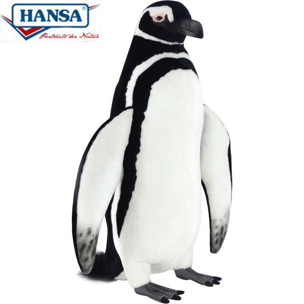 HANSA 7108 マゼランペンギン63 全長:63cm MAGELLANICP  BH7108 ぬいぐるみ ハンサ クリスマス 誕生日 プレゼント 動物 犬 猫 鳥 うさぎ ペンギン アニマル 置物 人形 フィギュア KOESEN ケーセン カロラータ 大きい マスコット 実物大 大型