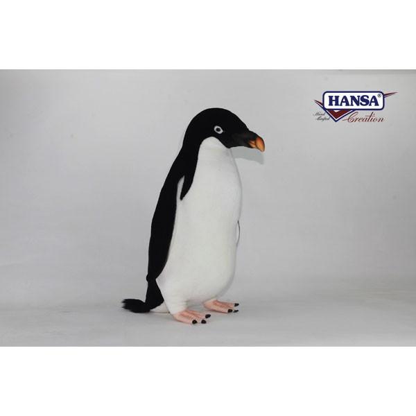 HANSA 7118 アデリーペンギン60 全長:60cm ADELIE PENG BH7118 ぬいぐるみ ハンサ クリスマス 誕生日 プレゼント 動物 犬 猫 鳥 うさぎ ペンギン アニマル 置物 人形 フィギュア KOESEN ケーセン カロラータ 大きい マスコット 実物大 大型