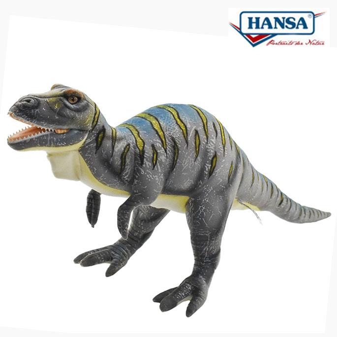 HANSA BH7788 ギガノトサウルス 65cm GIGANOTOSAURUS 恐竜 リアル ティラノサウルス ぬいぐるみ 操り人形 手人形 指人形 腹話術 ハンサ クリスマス 誕生日 プレゼント 動物 アニマル 置物 人形 フィギュア KOESEN ケーセン カロラータ 7756