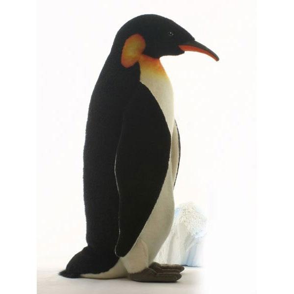 HANSA 皇帝ペンギン74 3266 ぬいぐるみ ハンサ クリスマス 誕生日 プレゼント 動物 犬 猫 鳥 うさぎ ペンギン アニマル 置物 人形 フィギュア KOESEN ケーセン カロラータ 大きい マスコット 実物大 大型