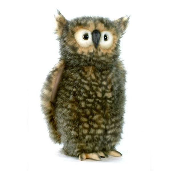 Agogonus Cute Owl Hansa 34 H 34 Cm 4466 Real In The Worldwide