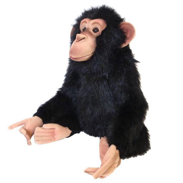 HANSA チンパンジー35 H35(cm) 4988 ぬいぐるみ ハンサ 猿 クリスマス 誕生日 プレゼント 動物 犬 猫 鳥 うさぎ ペンギン アニマル 置物 人形 フィギュア KOESEN ケーセン カロラータ 大きい マスコット 実物大 大型