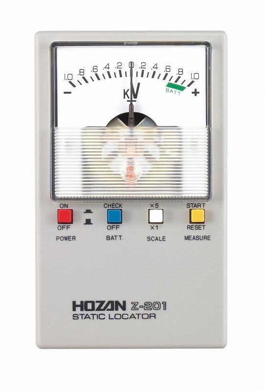 静電気チェッカー HOZAN ホーザン Z-201