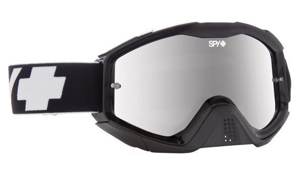 SPY スパイ KLUTCH BLACK - SMOKE w/ SILVER SPECTRA + CLEAR AFP /ゴーグル モトクロス バイク スノーボード スキー スノボ レンズ ストラップ サングラス アイウェア おしゃれ ブランド ヘルメット シールド mxゴーグル
