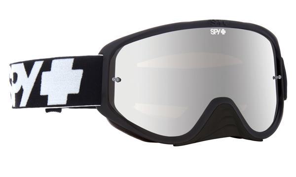 SPY スパイ WOOT RACE BLACK ENDURO - CLEAR DUAL LENS + CLEAR AFP /ゴーグル モトクロス バイク スノーボード スキー スノボ レンズ ストラップ サングラス アイウェア おしゃれ ブランド ヘルメット シールド mxゴーグル
