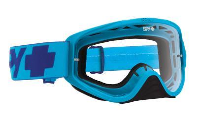 SPY スパイ WOOT MONO BLUE - CLEAR AFP /ゴーグル モトクロス バイク スノーボード スキー スノボ レンズ ストラップ サングラス アイウェア おしゃれ ブランド ヘルメット シールド mxゴーグル