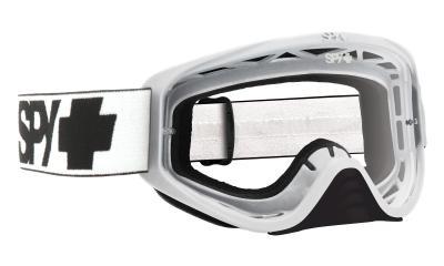 SPY スパイ WOOT WHITE - CLEAR AFP /ゴーグル モトクロス バイク スノーボード スキー スノボ レンズ ストラップ サングラス アイウェア おしゃれ ブランド ヘルメット シールド mxゴーグル