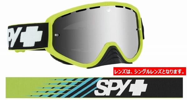 SPY スパイ WOOT RACE SLICE GREEN- SMOKE W/SILVER SPECTRA + CLEAR AFP /ゴーグル モトクロス バイク スノーボード スキー スノボ レンズ ストラップ サングラス アイウェア おしゃれ ブランド ヘルメット シールド mxゴーグル