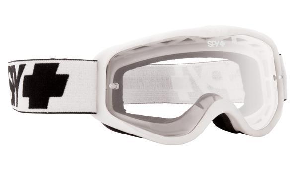 SPY スパイ CADET WHITE - CLEAR AFP /ゴーグル モトクロス バイク スノーボード スキー スノボ レンズ ストラップ サングラス アイウェア おしゃれ ブランド ヘルメット シールド mxゴーグル