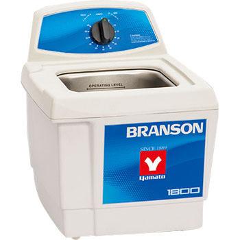 ブランソン BRANSON 超音波洗浄機 M1800-J タンク容量1.9L ブランソン ブランソニック / 卓上 工業用 医療 研究 歯科 金属 メガネ 眼鏡 貴金属 アクセサリー 腕時計 洗浄機 洗浄器 クリーナー 業務用 家庭用 レンズ