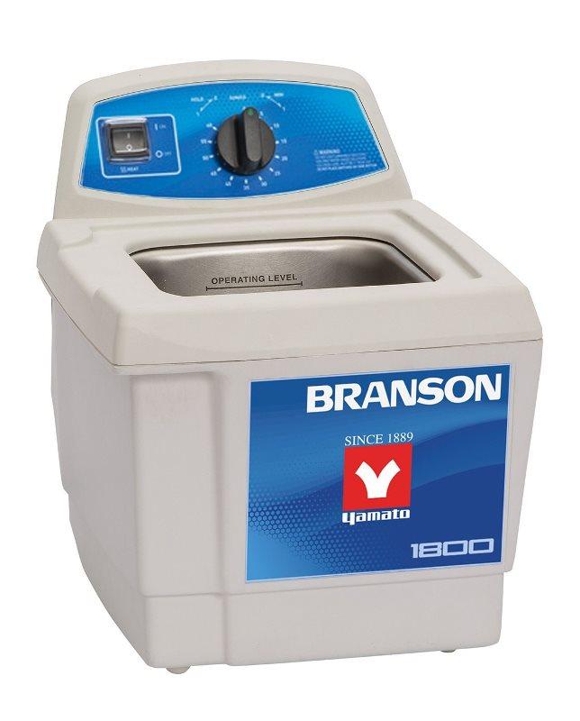 ブランソン BRANSON 超音波洗浄機 M1800h-J タンク容量1.9L ブランソニック ヤマト科学 / 卓上 工業用 医療 研究 歯科 金属 メガネ 眼鏡 貴金属 アクセサリー 腕時計 洗浄機 洗浄器 クリーナー 業務用 家庭用 レンズ