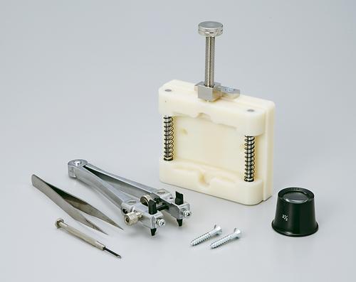 MKS(明工舎製作所) バッテリーチェンジツールセットセット BSプラハンマー バンドバイス バンドピン抜き棒 腕時計 修理 工具 メンテナンス 電池交換 バンド調整