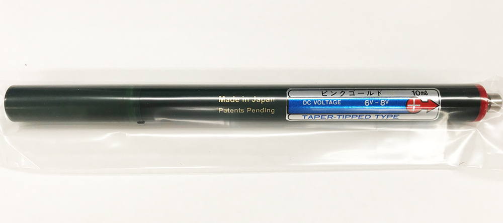 ボニック メッキ装置 プロメックス用 ピンクゴールドペン メッキペン 金メッキ めっき液 カートリッジ / PROMEX 吉田キャスト オーディオ メタル模型 補修 メッキ 表面加工 ゴールド ゴールドペン プロメックス