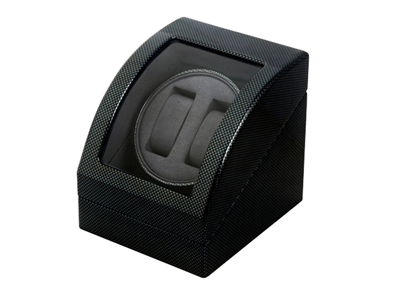 【送料無料!】 Es'prima LUHW MDF2連ワインディングマシーン/ウォッチワインダー LU23001CB 自動巻き腕時計 自動巻き腕時計に エスプリマ P05Dec15