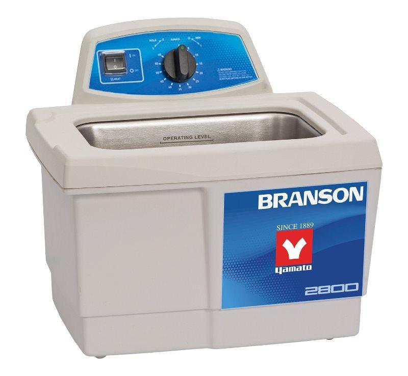 ブランソン BRANSON 超音波洗浄機 M2800h-J タンク容量2.8L ブランソニック メカニカル タイマー ヒーター 超音波 振動 ヤマト科学 / 卓上 工業用 医療 研究 歯科 金属 メガネ 眼鏡 貴金属 アクセサリー 腕時計 洗浄機 洗浄器 クリーナー 業務用 家庭用 レンズ