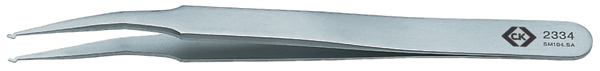 C.K ピンセット T2334 全長:120 精密工具 ドイツ C.K Tools ブランド 工具