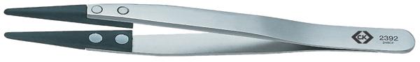 C.K カーボンファイバーESDピンセット T2392 全長:130 精密工具 ドイツ C.K Tools ブランド 工具