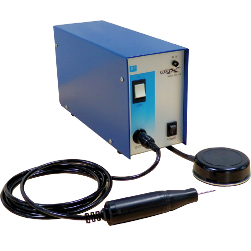 鈴峯 超音波ハンドツール SUZUX SUB-110 ハンディ 超音波工具 ハンドグラインダー 加工 研磨 切削 切断 表面処理 彫金