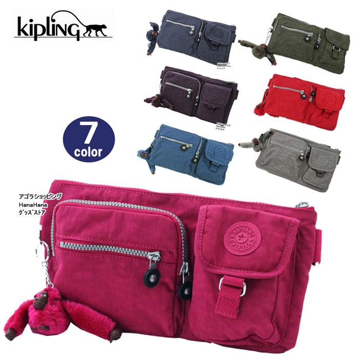 Kipling Waist Bag Hip Shoulder K13192 Presto Ag 808400