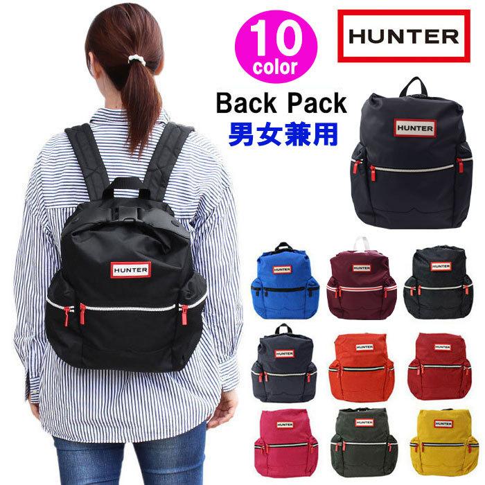 ハンター HUNTER バッグ ミニリュック UBB6018ACD サイドファスナーポケット オリジナルバックパック リュックサック 男女兼用 ag-1275