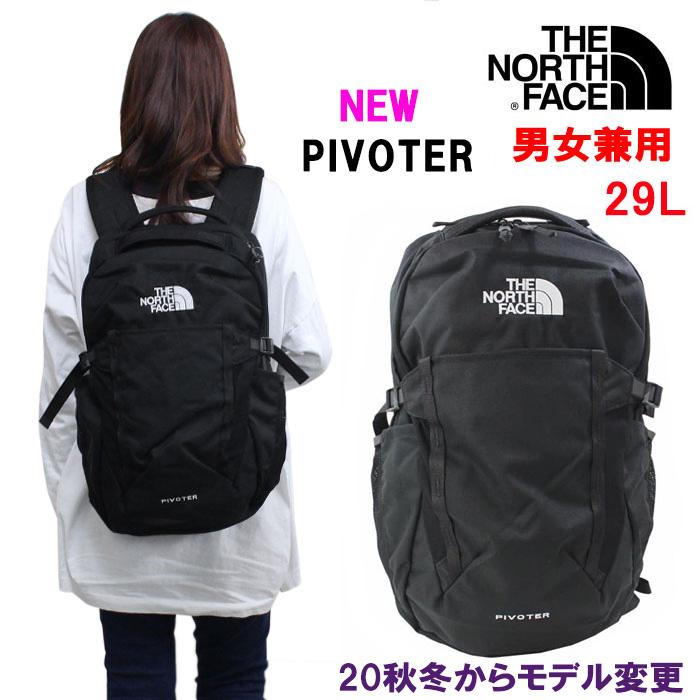 ■送料無料! THE NORTH FACE リュック ピボター Pivoter NF0A3VXDJK3 TNF BLACK ブラック リュックサック ザ・ノース・フェイス ノースフェイス バックパック 男女兼用 ab-390800