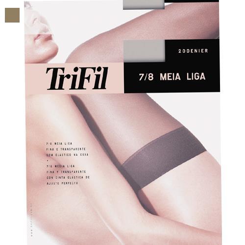 ブラジル輸入商品おしゃれでシンプルなストッキング 在庫処分 20デニール タイハイストッキングMeia 7 8 Trifil - TR6001 ベージュ レディース ナチュラル 激安価格と即納で通信販売 ストッキング ナチュラルベージュ フリーサイズ セール特別価格 女性 ファッション ブラジリアン