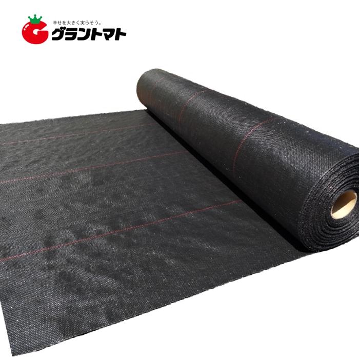 防草シート 幅200cm×長さ50m 黒 厚さ約0.4mm 約13kg 国産防草シート オリジナル