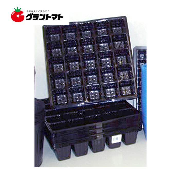 連結ポット黒 36穴 500枚入り 播種育苗用トレー