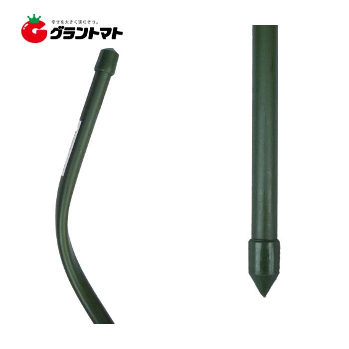 トマト支柱 13mm×1800mm 25本入 ラセン杭型 シンセイ【取寄商品】