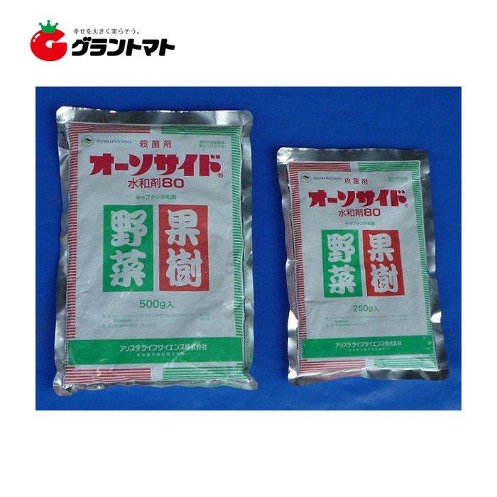 激安超特価 オーソサイド水和剤80 250g 多種適合殺菌剤 農薬 メール便可 1個まで アリスタライフサイエンス 全品送料無料
