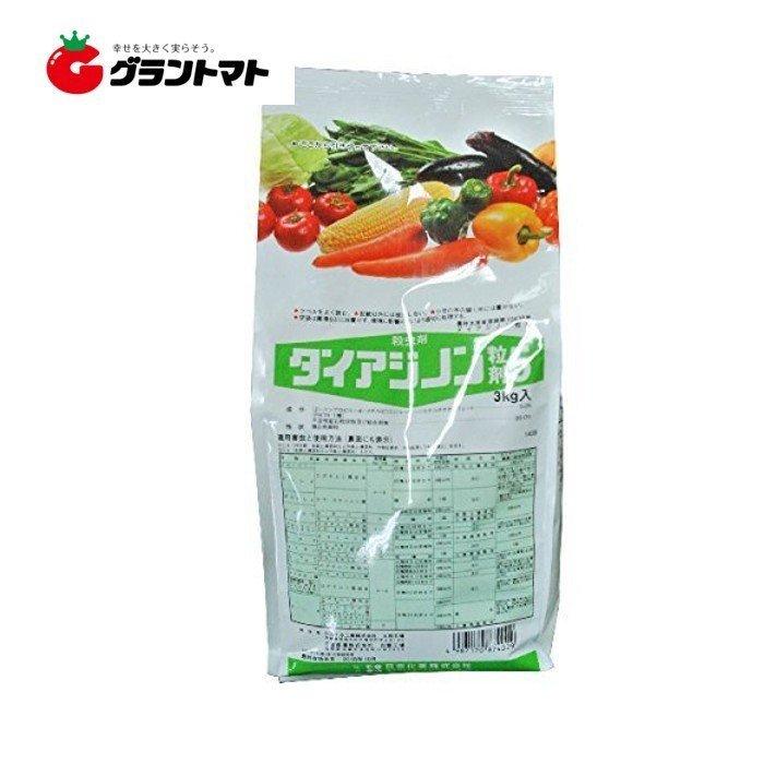 農薬 殺虫剤 土壌害虫 いつでも送料無料 ダイアジノン粒剤5 野菜 園芸 畑作 新発売 土壌害虫殺虫剤 3kg 日本化薬 農業