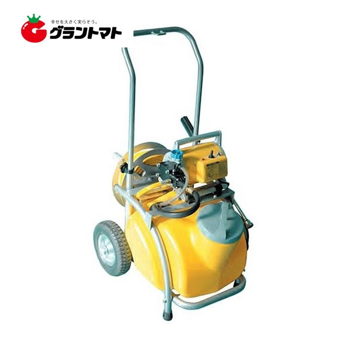 ガーデンスプレイヤー MS-252RT25 250W 20mホース+25Lタンク+キャリー付 電動噴霧器 工進【取寄商品】