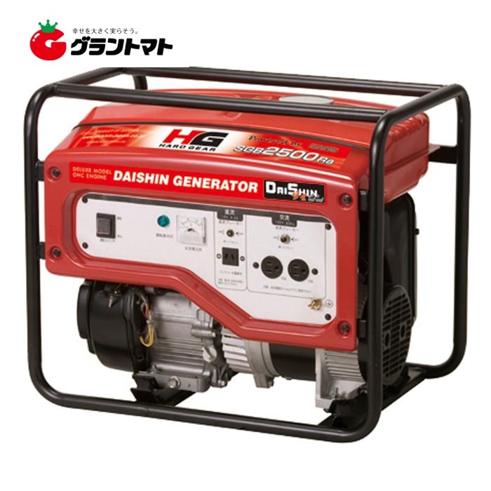 国産発電機 SGB2500Ra 東日本用 (50Hz) 大進