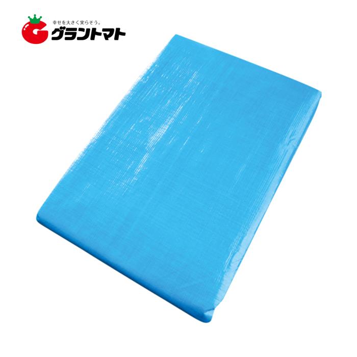ブルーシート 厚手 #3000 呼称10.0m×10.0m (実寸約9.6m×9.6m) シンセイ