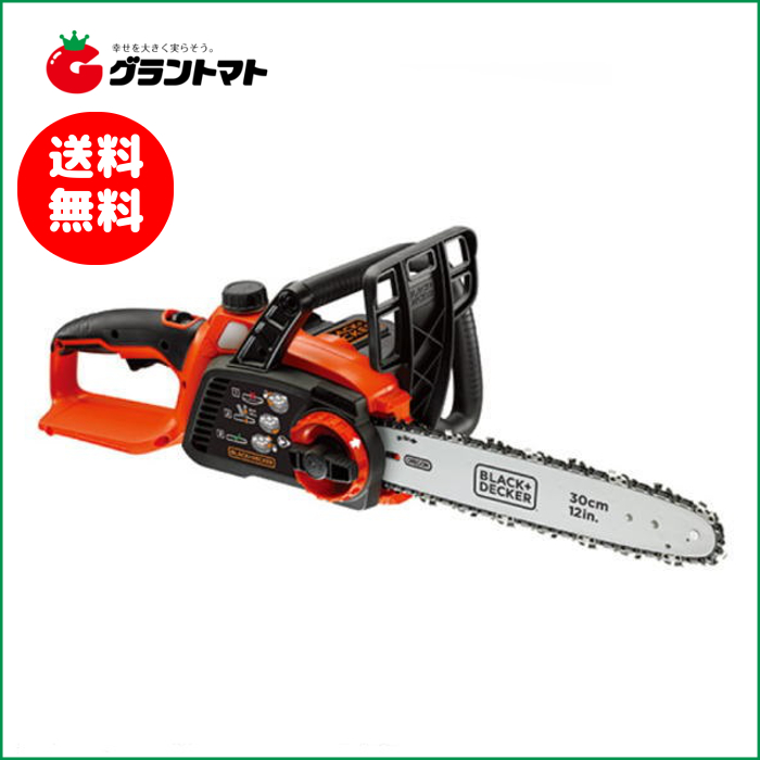 充電式電気チェーンソー GKC3630L 36V BLACK+DECKER(在庫限り)