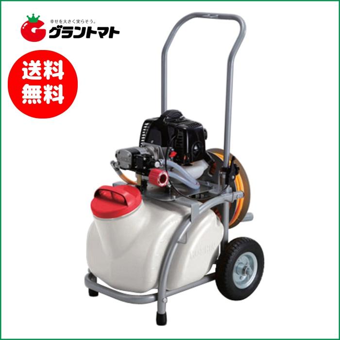 工進 タンクキャリー付エンジン動噴 ES-25T【取寄商品】