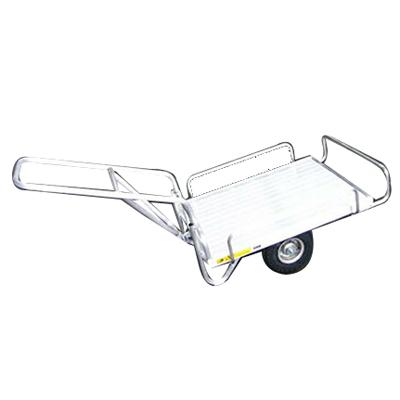昭和 HC-1S (2輪車) アルミ台車 アルミ二輪車 アルミキャリー 運搬車 【150キロ積載】 【メーカー直送・代引不可】