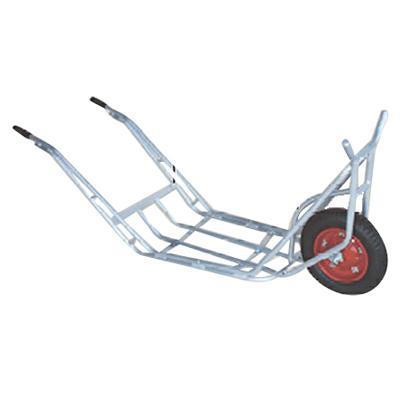 【個人宅配送OK】ハラックス CU-1 アルミ一輪車 植木用一輪車 作業用一輪車 【100キロ積載】【メーカー直送・代引不可】